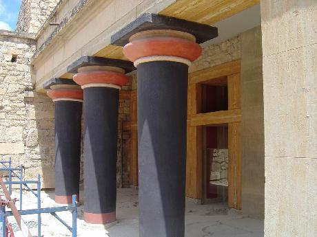 July 5, 2005, Knossos Palace, Crete